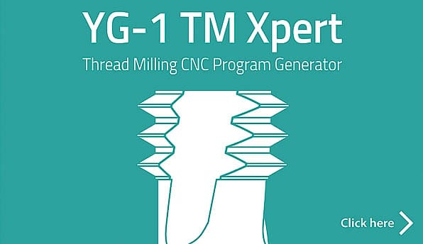 YG-1 TM Xpert | Thread Milling CNC Program Generator